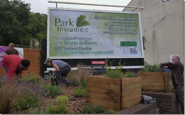 Park Insurance Generously Funded This Large Poster at the Billboards Site.