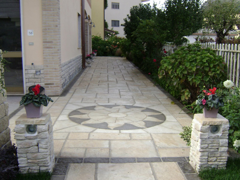 Parisian Paving with Aurora Circle