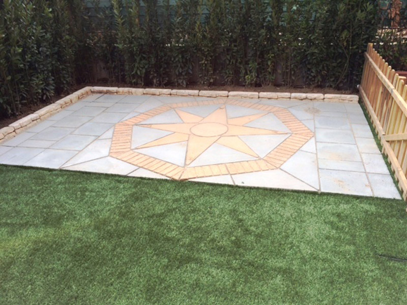 Lakeland Star with Lakeland paving