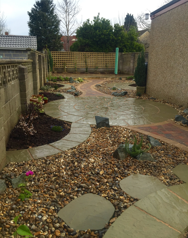 Completed Garden B