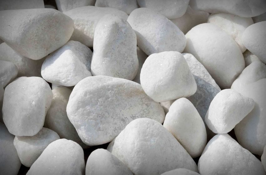 Bowland Stone Polar White Cobbles