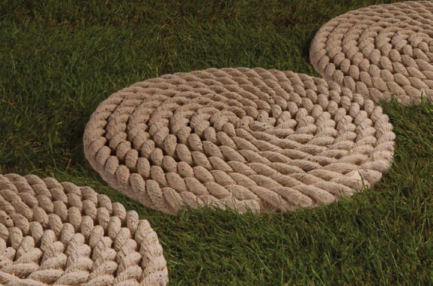 Rope Stepping Stone
