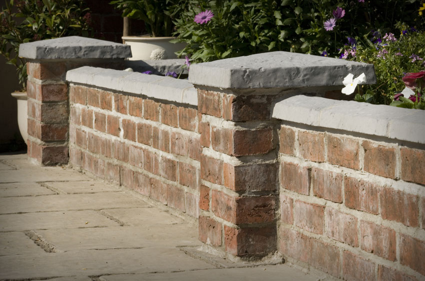 Bowland Stone Pier Caps Coping In Grey Barley Amp Welsh Slate